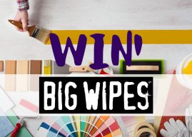 Win 1 of 3 Big Wipes Bundles with P&D News!