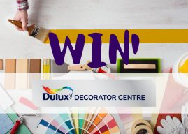 Win 1 of 5 Christmas Hampers from Dulux Decorator Centre