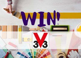 Win 1 of 3 V33 Multi-Surface Renovation White Paint Bundles