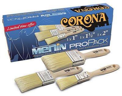 Win 1 of 5 Corona Brush Packs with P&D News! 2