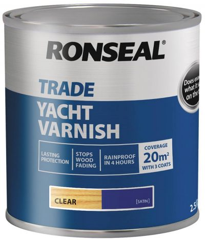 Ronseal adds Yacht Varnish 1