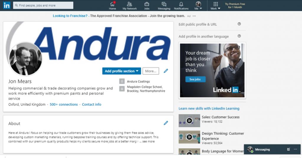 LinkedIn for Decorators 2
