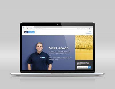 Dulux Select Decorators website updated 1