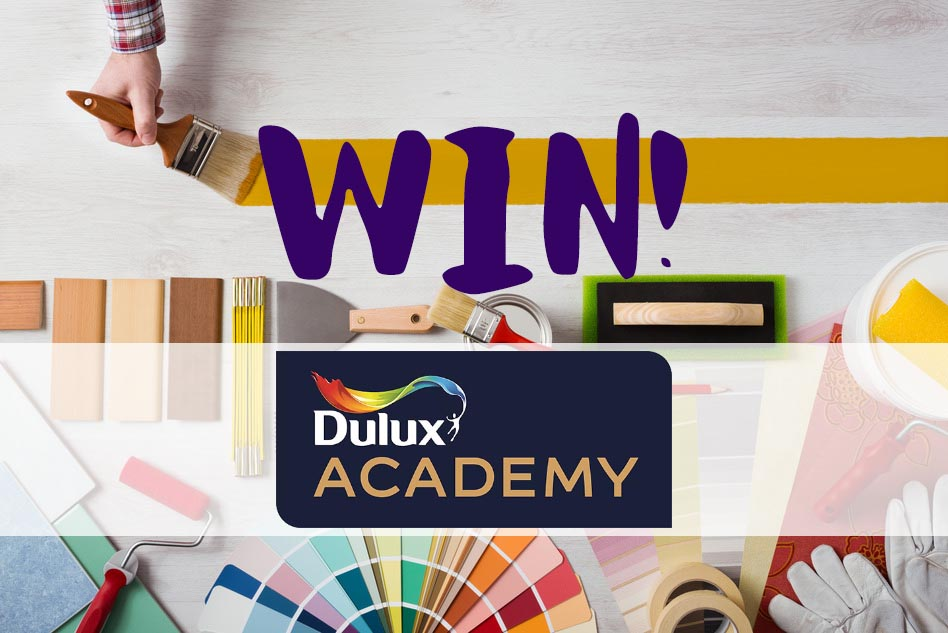 Win a Dulux Academy course with P&D News! 1