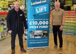 Leyland SDM Big Charity Giveaway