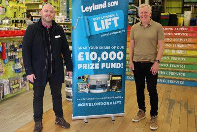 Leyland SDM Big Charity Giveaway 1