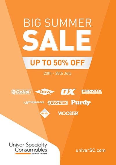 Univar's Big Summer Sale starts next week 1