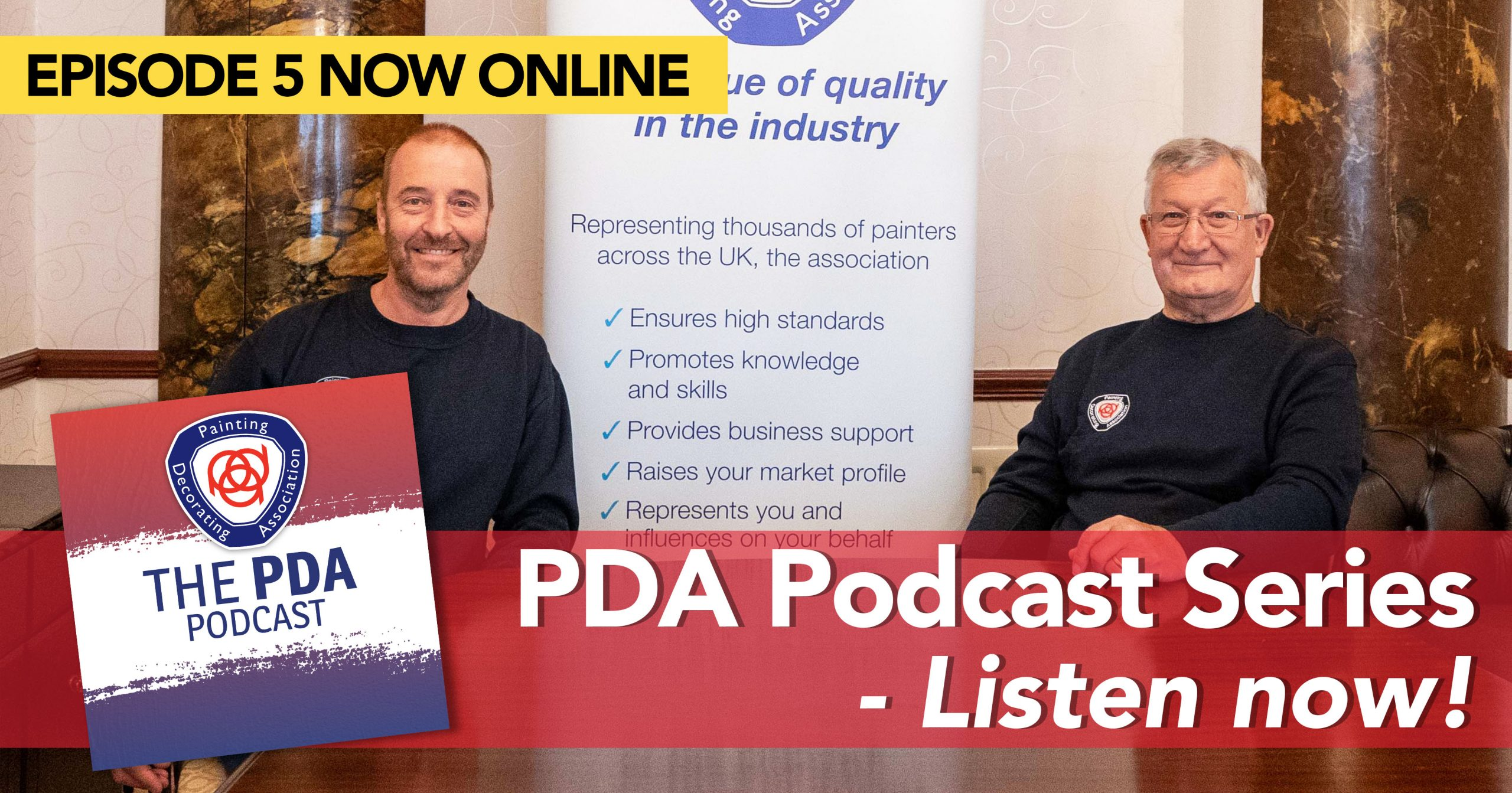 Estimating and success – latest PDA podcast 1