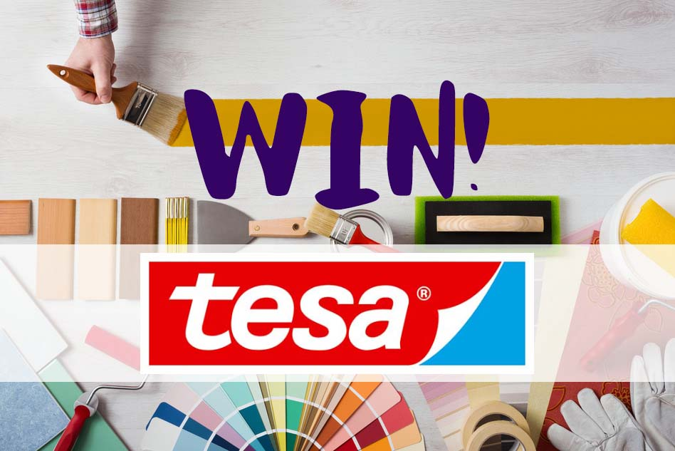 Win 1 of 3 tesa tape bundles with P&D News! 1