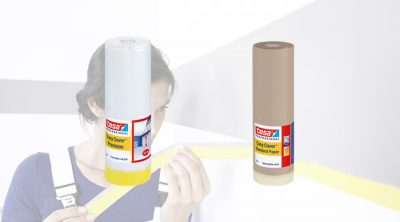 Two new tesa Paint Spraying products through Brewers 1