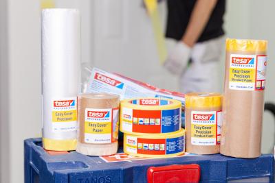 New paint spraying range from tesa 1