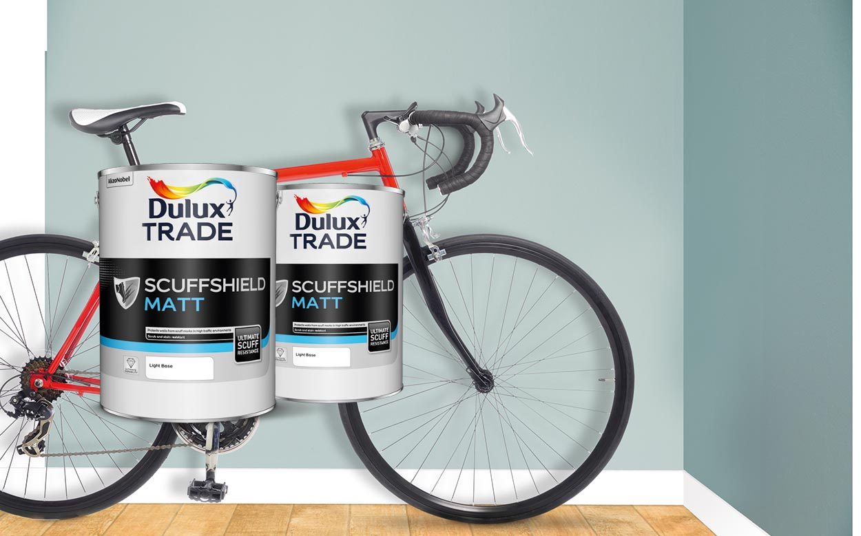 Dulux launches Scuffshield 1