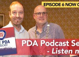 Episode 6 – latest PDA podcast