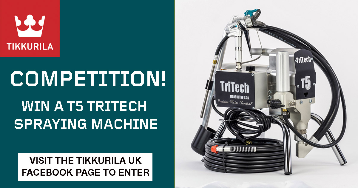 TriTech sprayer up for grabs in Tikkurila competition 1