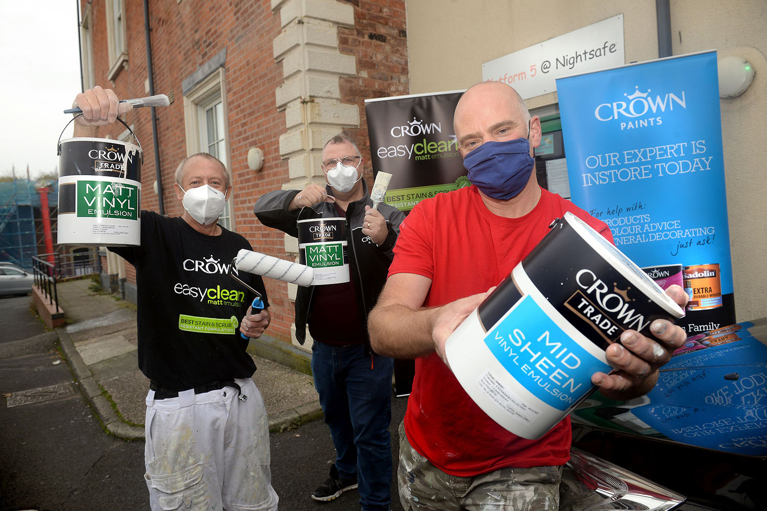 Crown lends a hand to support local charity 1