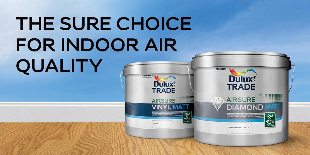Dulux launch Airsure – 99.9% VOC free 1