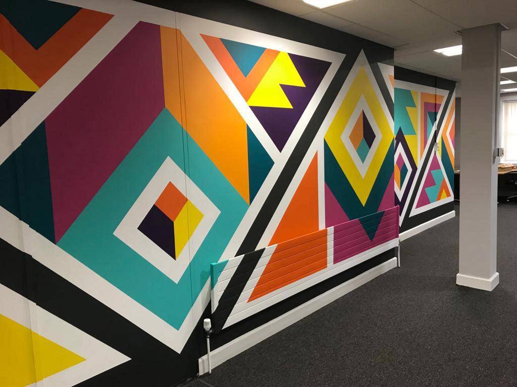 Award-winning artists bring walls to life at Shurtape HQ 1
