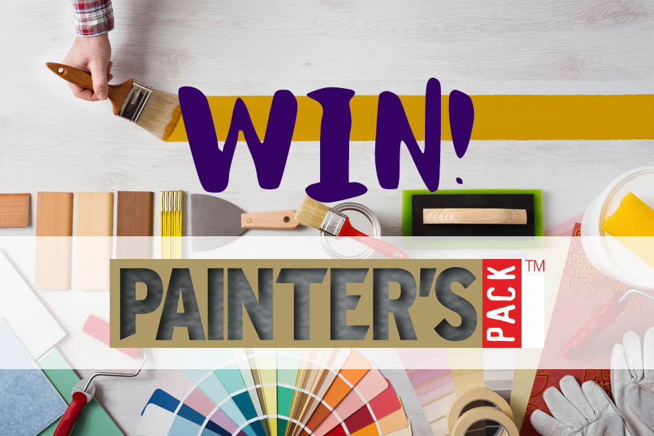 Win 1 of 6 Painters Pack™ brushes bundles with P&D News! 1